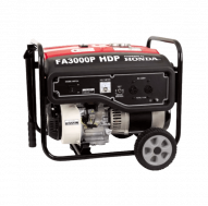 Honda Generator FA 3000 with wheels