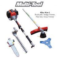Tandem 3-in-1 Multi Tool (Brushcutter / Polesaw / Hedge Trimmer)